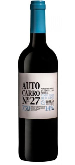 Вино Peninsula de Setubal VR. Autocarro №27 dry red, 2017, 0.75 л
