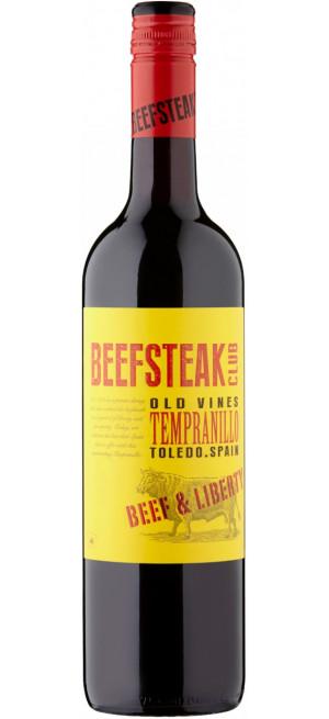 "Вино ""Beefsteak Club"" Beef & Liberty, Tempranillo, 2018, 0.75 л"