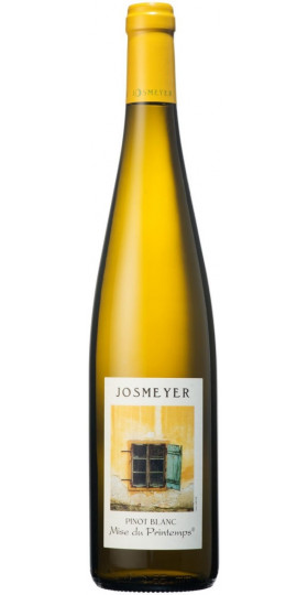 "Вино Josmeyer, Pinot Blanc ""Mise du Printemps"", Alsace AOC, 2018, 0.75 л"