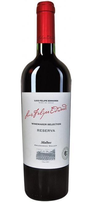 "Вино Luis Felipe Edwards, ""Reserva"" Malbec, 0.75 л"