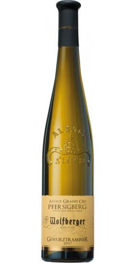 "Вино Gewurztraminer ""Pfersigberg"", Alsace Grand Cru, 2017, 0.75 л"