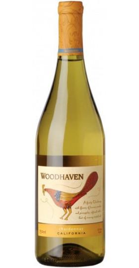 """Вино """"Woodhaven"""" Chardonnay, 2017, 0.75 л"""