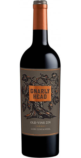 "Вино ""Gnarly Head"" Old Vine Zinfandel, 2017, 0.75 л"