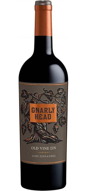 "Вино ""Gnarly Head"" Old Vine Zinfandel, 2017, 0.75 л"