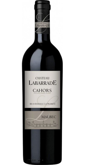 "Вино ""Chateau Labarrade"" Malbec, Cahors AOP, 2017, 0.75 л"
