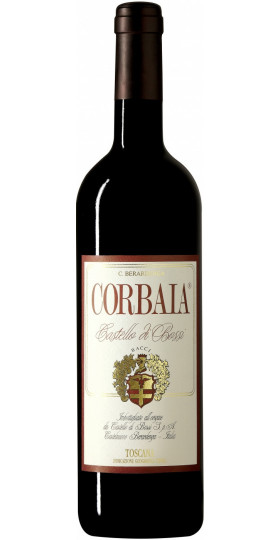 """Вино Castello di Bossi, """"Corbaia"""", Toscana IGT, 2012, 0.75 л"""