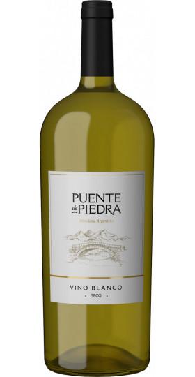 """Вино """"Puente de Piedra"""" Blanco Seco, 1.5 л"""