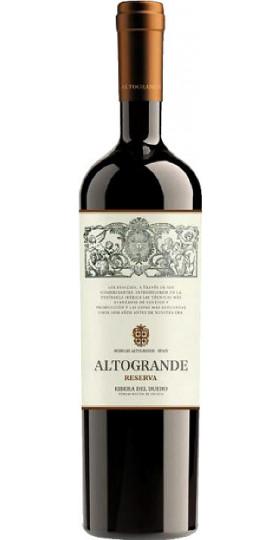 """Вино """"Altogrande"""" Reserva, Ribera del Duero DO, 2011, 0.75 л"""