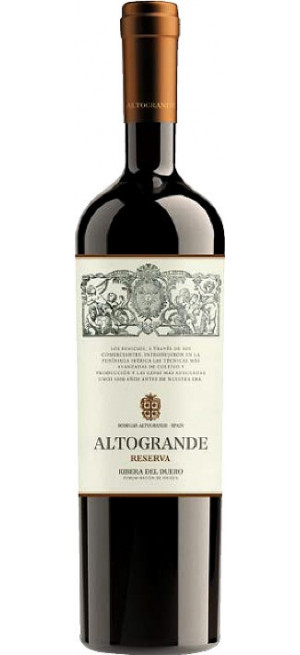 "Вино ""Altogrande"" Reserva, Ribera del Duero DO, 2013, 0.75 л"