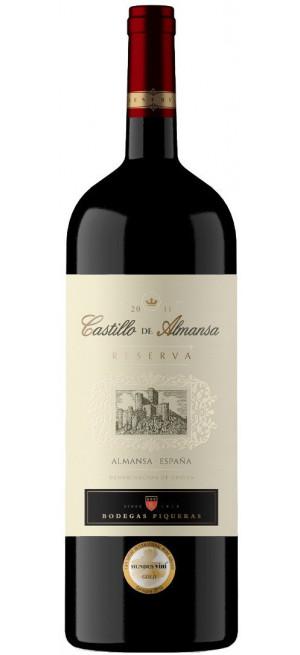 """Вино """"Castillo de Almansa"""" Reserva DO, 1.5 л"""
