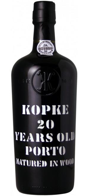 Портвейн Kopke, 20 Years Old Porto, gift box 0.75 л