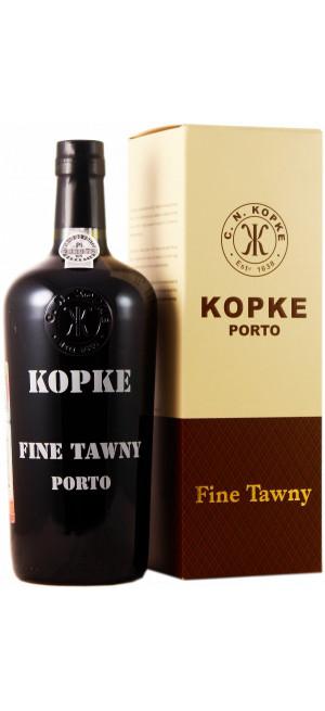 Портвейн Kopke, Fine Tawny Porto, gift box, 0.75 л