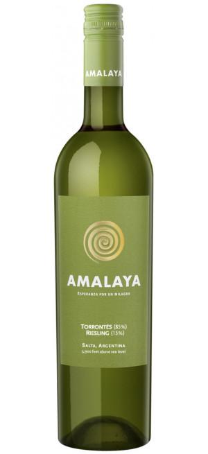 "Вино ""Amalaya"" Blanco, 2018, 0.75 л"