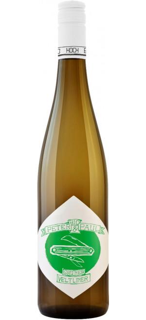 """Вино """"Peter & Paul"""" Gruner Veltliner, 2017, 0.75 л"""
