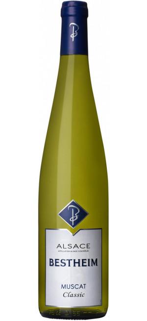 "Вино Bestheim, ""Classic"" Muscat, Alsace AOC, 2016, 0.75 л"