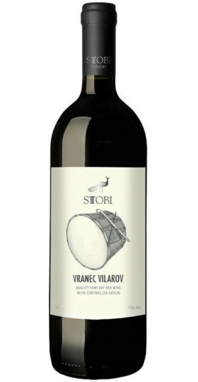 Вино Stobi, Vranec Vilarov, 1 л