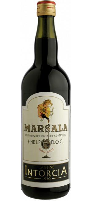 Вино Cantine Intorcia, Marsala Fine I.P. Dry DOC, 1 л