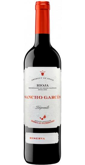"Вино Patrocinio, ""Sancho Garces"" Reserva, Rioja DOC, 2015, 0.75 л"