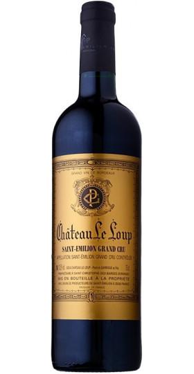 """Вино """"Chateau Le Loup"""", Saint-Emilion Gran Cru AOC, 2015, 0.75 л"""