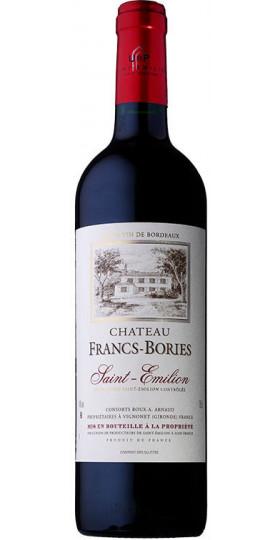 Вино Chateau Francs Bories, Saint-Emilion AOC, 2015, 0.75 л