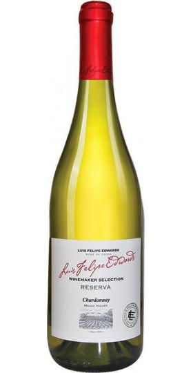 "Вино Luis Felipe Edwards, ""Reserva"" Chardonnay, 0.75 л"