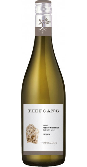 "Вино ""Tiefgang"" Weissburgunder Mineralstein, 2019, 0.75 л"