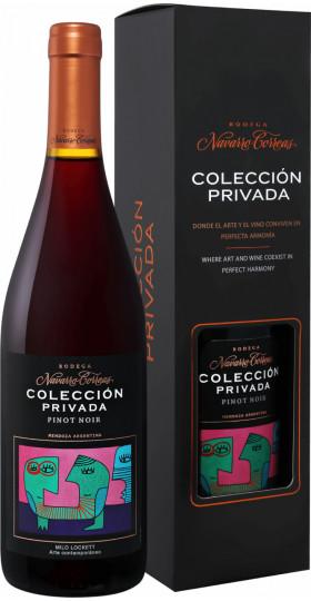 "Вино Navarro Correas, ""Coleccion Privada"" Pinot Noir, 2019, gift box, 0.75 л"
