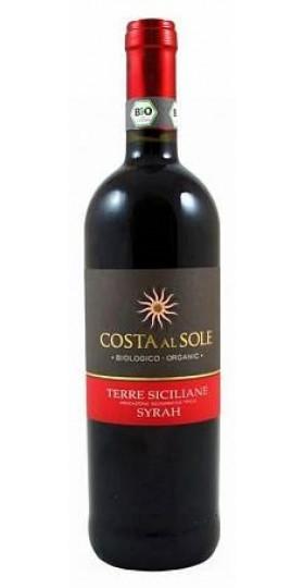 Вино Costa al Sole Syrah Sicilia IGT, 2016, 0.75 л