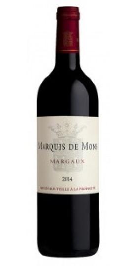 Вино Marquis de Mons AOC Margaux, 2016, 0.75 л