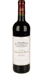 Вино Chateau La Croix Du Breuil, Medoc AOC, 2017, 0.75 л