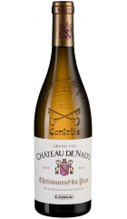 "Вино ""Chateau de Nalys"" Blanc, Chateauneuf-du-Pape AOC, 2017, 0.75 л"