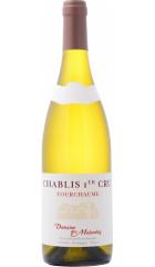 """Вино Domaine des Malandes, Chablis Premier Cru """"Fourchaume"""" AOC, 2019, 0.75 л"""