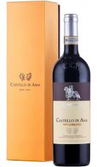 """Вино Castello di Ama, """"San Lorenzo"""" Chianti Classico Gran Selezione DOCG, 2015, gift box, 0.75 л"""