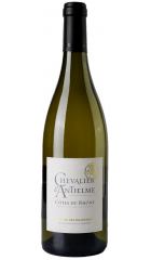 """Вино Cellier des Chartreux, """"Chevalier d'Anthelme"""" Blanc, Cotes du Rhone AOP, 2017, 0.75 л"""
