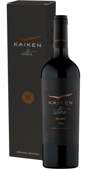 "Вино ""Kaiken Ultra"" Malbec, 2018, gift box, 0.75 л"