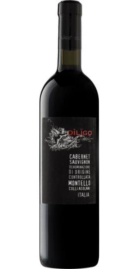 """Вино Anna Spinato, """"Diligo"""" Cabernet Sauvignon DOC, 2018, 0.75 л"""