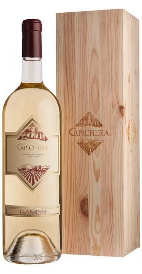 """Вино """"Capichera"""" Classico, Isola dei Nuraghi IGT, 2018, wooden box, 1.5 л"""
