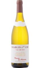 """Вино Domaine des Malandes, Chablis Premier Cru """"Vau de Vey"""" AOC, 2019, 0.75 л"""