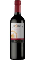 """Вино San Pedro, """"35° South"""" Cabernet Sauvignon, Central Valley DO, 2020, 0.75 л"""