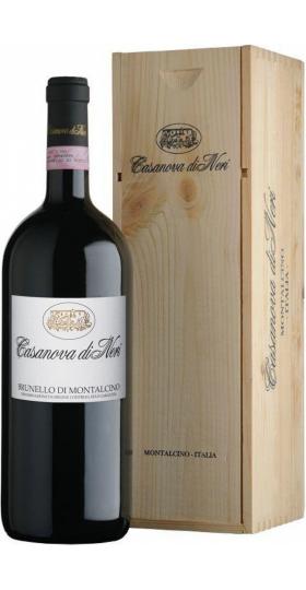 Вино Casanova di Neri, Brunello di Montalcino DOCG, 2015, wooden box, 1.5 л