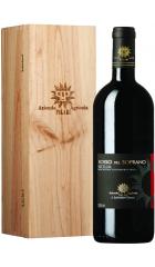 "Вино Palari, ""Rosso del Soprano"", Sicilia IGT, 2015, wooden box, 1.5 л"