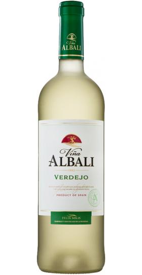 """Вино """"Vina Albali"""" Verdejo, Valdepenas DO, 2018, 0.75 л"""