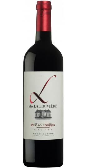 "Вино Andre Lurton, ""L De La Louviere"", Pessac-Leognan AOC 2015, 0.75 л"