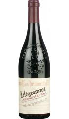 "Вино Vignobles Brunier, ""Telegramme"", Chateauneuf-du-Pape AOC, 2017, 0.75 л"