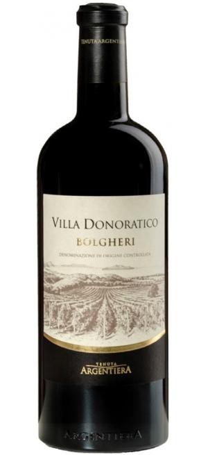"""Вино Argentiera, """"Villa Donoratico"""", 2017, 375 мл"""