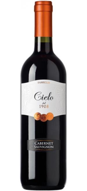 Вино Cielo e Terra, Cabernet Sauvignon IGT, 2018, 0.75 л