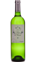 """Вино """"Fleur de Thenac"""" Blanc, Bergerac AOC, 2015, 0.75 л"""