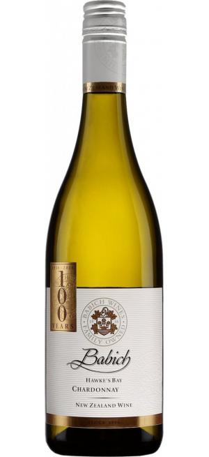 Вино Babich Wines, Hawke's Bay Chardonnay, 2017, 0.75 л