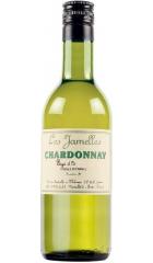 Вино Les Jamelles, Chardonnay, Pays d'Oc IGP, 2018, 250 мл
