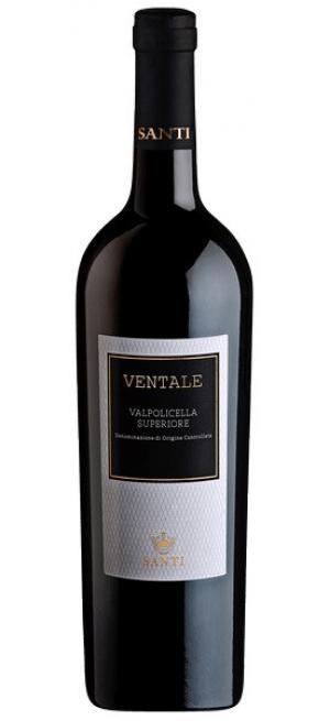 """Вино Santi, """"Ventale"""" Valpolicella Superiore DOC, 2016, 0.75 л"""
